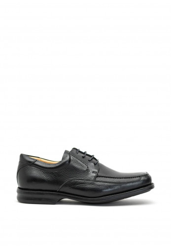 Anatomic & Co Goias Wide Fit Lace Up Leather Shoes, Black