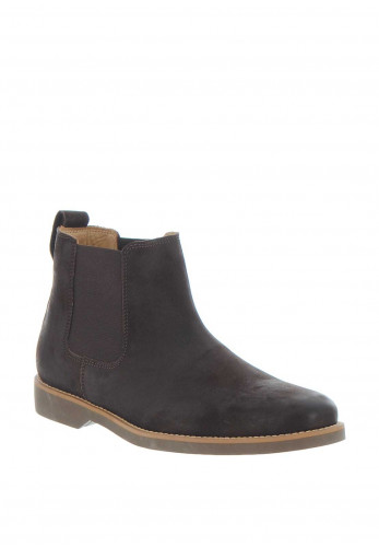 Anatomic & Co Cardoso Leather Slip on Boot, Brown