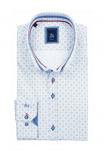 Andre A2 Dover Long Sleeve Shirt, Blue