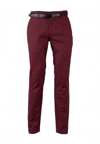 Andre Becker Modern Fit Chino, Red