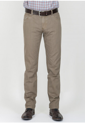 Andre Men's Straight Leg Jeans, Taupe