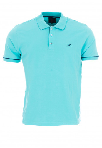 André Naples Polo Shirt, Aqua