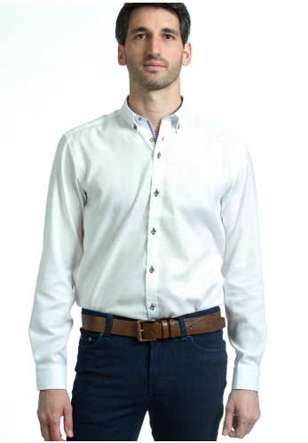 Andre Tivoli Long Sleeve Shirt, White