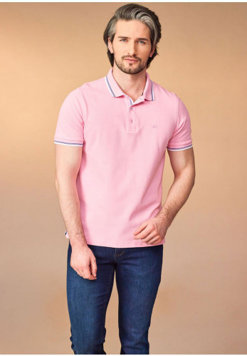 Andre Dingle Polo Shirt, Pink