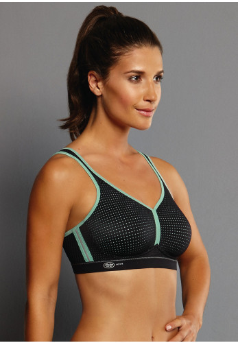 Anita Performance Non-Wired Sports Bra, Black