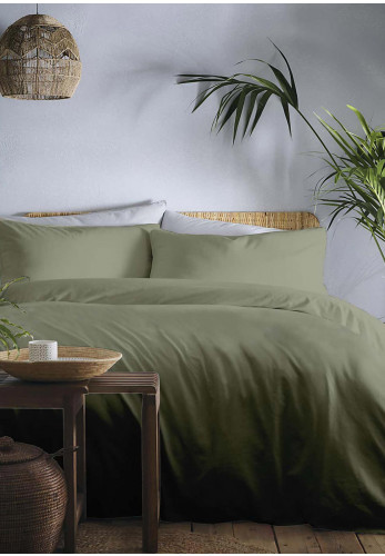 Appletree Cassia Khaki Duvet & Pillowcase set