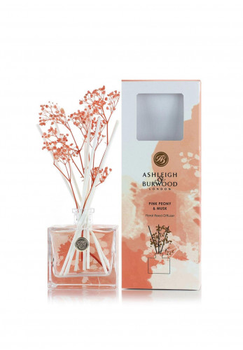Ashleigh & Burwood Life In Bloom Floral Reed Diffuser, Pink Peony & Musk