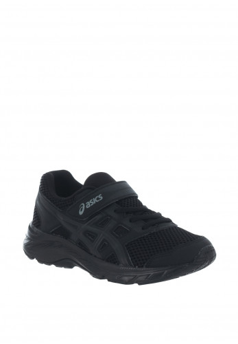 Asics Boys Contend 5 Velcro Trainers, Black