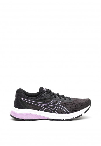 Asics Womens GT800 Trainers, Black and Lilac