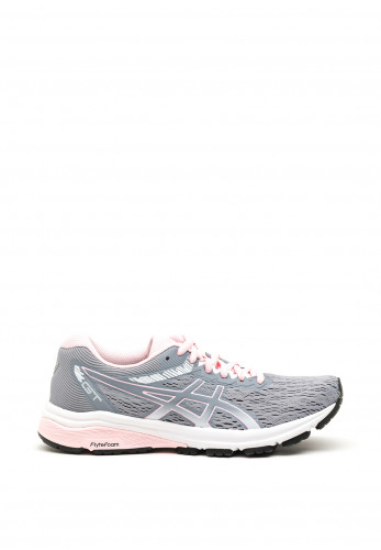 Asics Womens GT Flytefoam Trainers, Grey & Pink