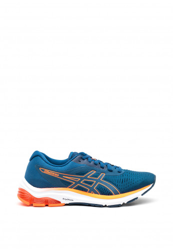 Asics Womens Gel Pulse 12 Trainers, Blue and Orange