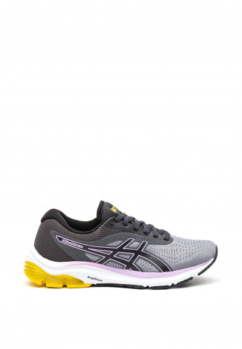 Asics Womens Gel Pulse 12 Trainers, Grey and Purple
