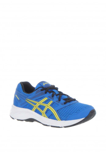 Asics Boys Contend 5 Trainers, Blue