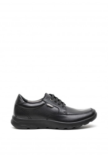 Atrai Mens Floater Comfort Shoe, Black