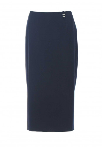 Avalon Midi Pencil Skirt, Navy