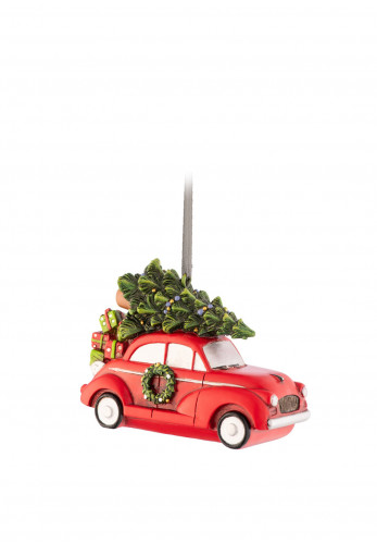 Aynsley Driving Home for Christmas Hanging Ornament