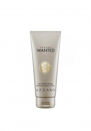 Azzaro Wanted Hair & Body Shampoo For Men
