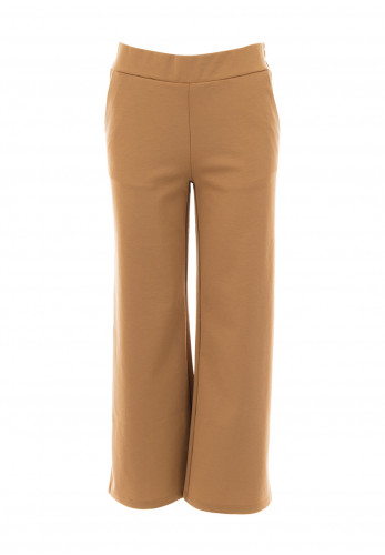 b young Casual Straight Leg Trousers, Beige