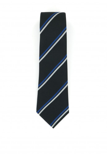 Hunter Black and Blue Stripe School Tie