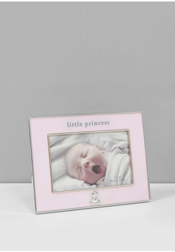 Bambino Little Princess Silver Plated Photo Frame, 4 x 6