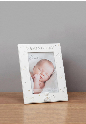 Bambino Naming Day Photo Frame, 4 x 6