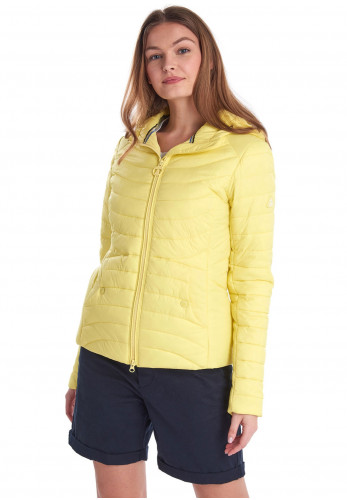 Barbour Womens Ashore Quilted Jacket, Yellow