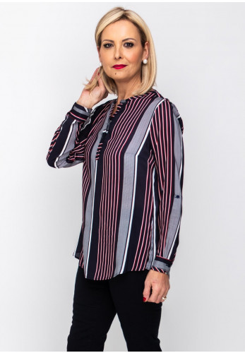 Bariloche Egeo Striped Shirt, Navy Multi