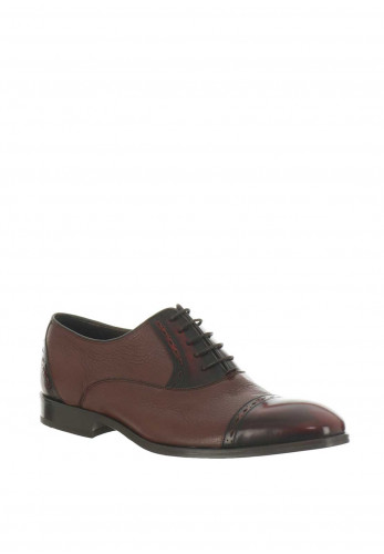 Barker England Felix Leather Derby Shoes, Brown