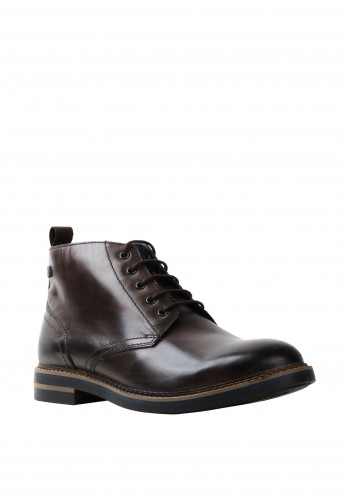 Base London Raynor Burnished Boot, Cocoa