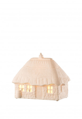 Belleek Living Thatched Cottage Luminaire Lamp