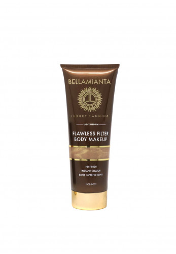 Bellamianta Flawless Filter Body Makeup, Light/Med