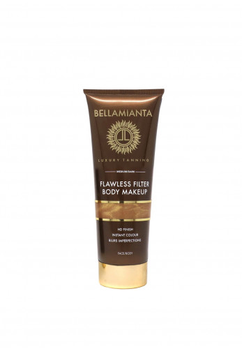 Bellamianta Flawless Filter Body Makeup, Med/Dark