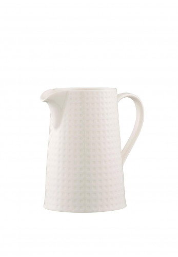 Belleek Living Grafton Pitcher Jug, White
