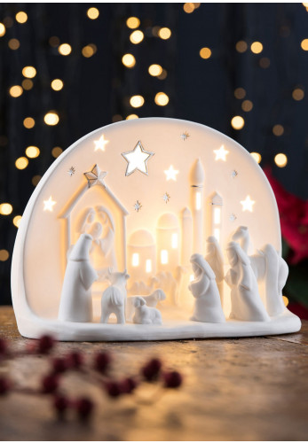 Belleek Living, Town of Bethlehem Luminaire Lamp