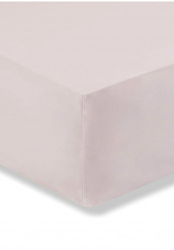 Bianca Home Fitted Egyptian Cotton Sheet, Blush