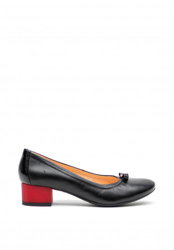 Bioeco by Arka Leather Court Shoes, Black