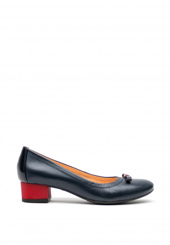 Bioeco by Arka Leather Court Shoes, Navy