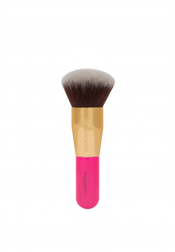Blank Canvas Cosmetics F01 Face Brush, Hot Pink