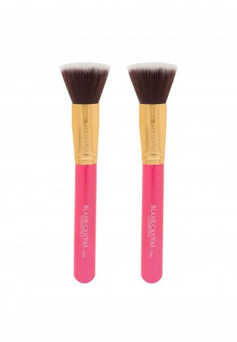Blank Canvas F20 Hot Pink & Gold Duo Brush Set