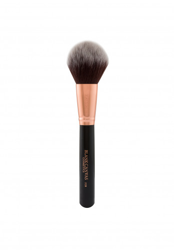 Blank Canvas Cosmetics F39 Black Rose Gold Dome Powder Brush