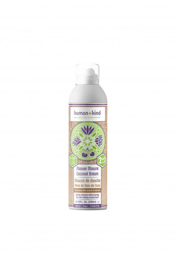 Human and Kind Shower Mousse Bodywash, Coconut Dream