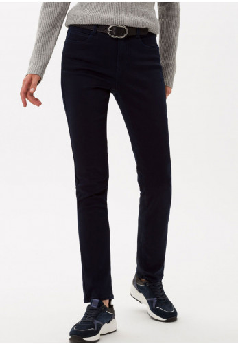 Brax Mary Short Length Slim Jeans, Navy