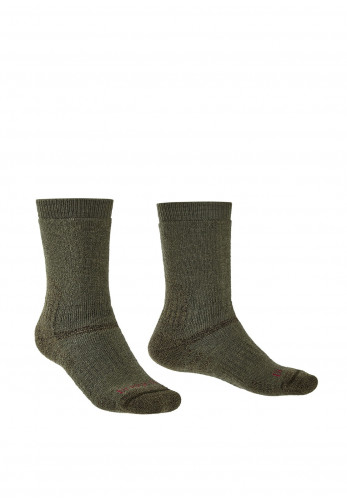 Bridgedale Explorer Heavyweight Merino Endurance Socks, Olive