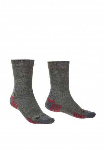 Bridgedale Hike Lightweight Merino Endurance Socks, Grey