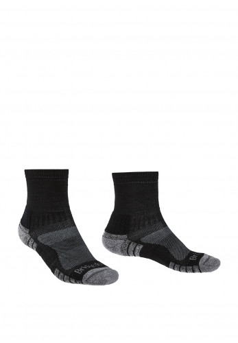 Bridgedale Hike Lightweight Merino Performance Socks, Black