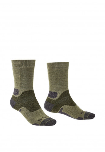 Bridgedale Hike Midweight Merino Performance Socks, Green
