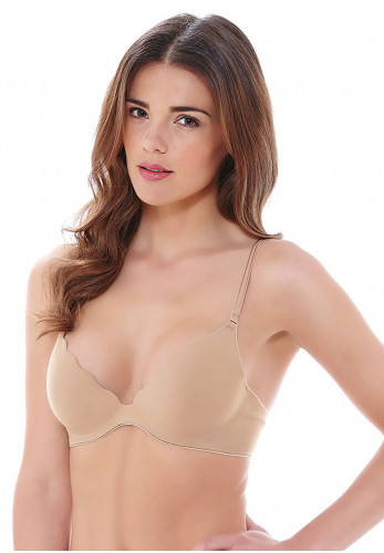 b.tempt'd B.Wow'd Push Up Bra, Nude