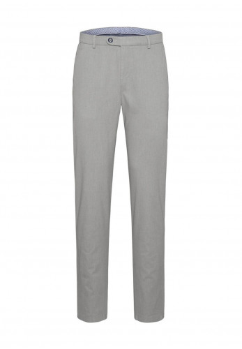 Bugatti Luxury Pima Cotton Straight Chinos, Biscuit