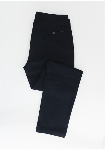 Bugatti Micro Dot Stretch Chinos, Navy