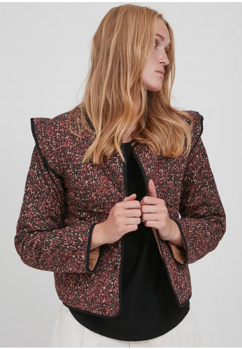 b.young Bydophin Print Jacket, Arabian Spice Mix